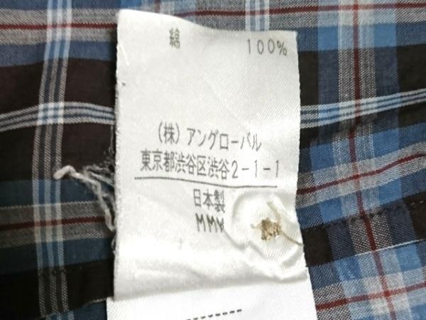 マーガレットハウエル 七分袖シャツブラウス サイズ2 M レディース 4