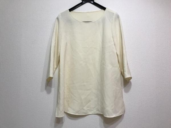 M・Fil(エムフィル) 七分袖カットソー レディース美品  アイボリー 0
