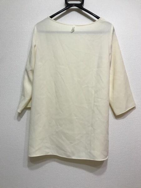 M・Fil(エムフィル) 七分袖カットソー レディース美品  アイボリー 2