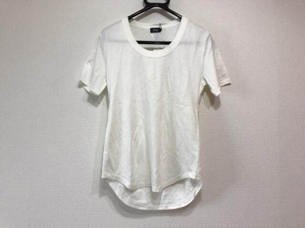 M・Fil(エムフィル) 半袖Tシャツ レディース新品同様  アイボリー 0