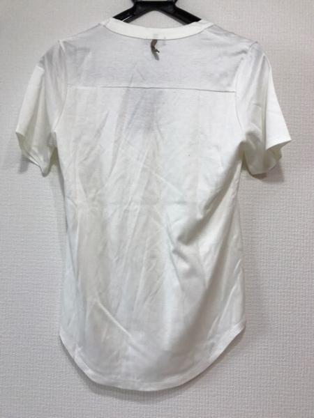 M・Fil(エムフィル) 半袖Tシャツ レディース新品同様  アイボリー 2