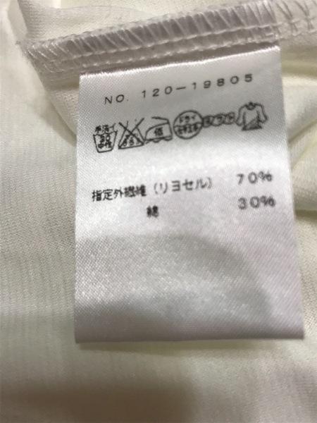 M・Fil(エムフィル) 半袖Tシャツ レディース新品同様  アイボリー 4