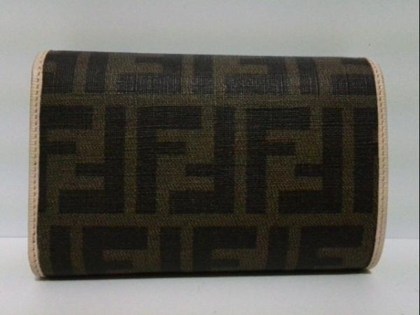 FENDI(フェンディ) 3つ折り財布 ズッカ柄 8M0026 PVC(塩化ビニール) 2