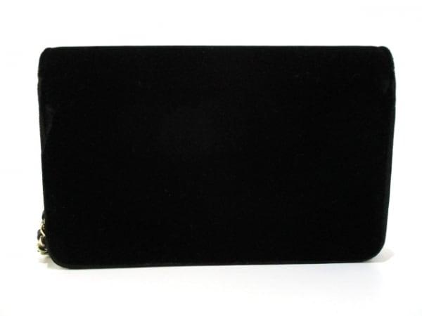 CHANEL(シャネル) 財布 マトラッセ A48654 黒 ベロア 2