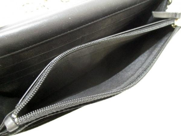 CHANEL(シャネル) 財布 マトラッセ A48654 黒 ベロア 4