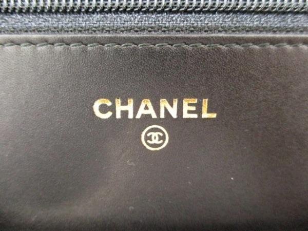 CHANEL(シャネル) 財布 マトラッセ A48654 黒 ベロア 5