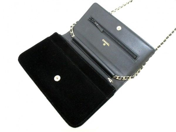 CHANEL(シャネル) 財布 マトラッセ A48654 黒 ベロア 7