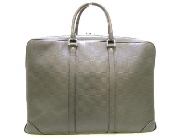 ルイヴィトン ビジネスバッグ ダミエアンフィニ美品  N41146 0