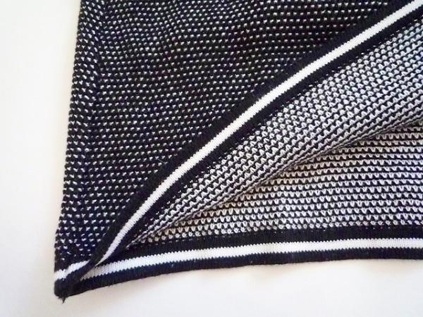 FENDI(フェンディ) 半袖ポロシャツ サイズ38 S レディース 黒×白 7