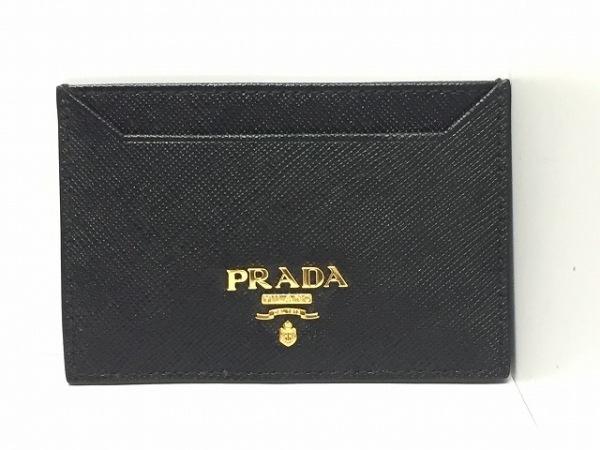 PRADA(プラダ) パスケース - 1MC208 黒 レザー 0