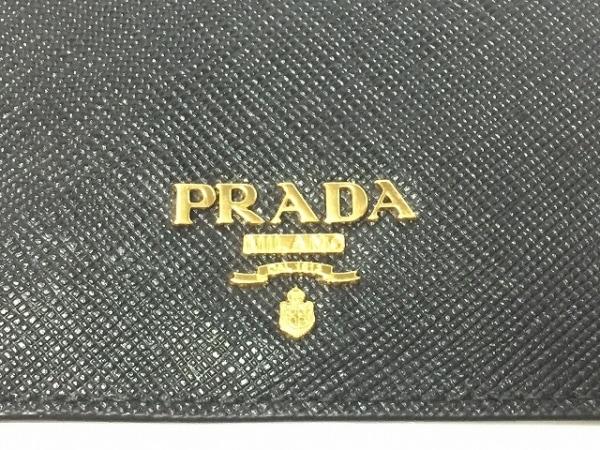 PRADA(プラダ) パスケース - 1MC208 黒 レザー 3