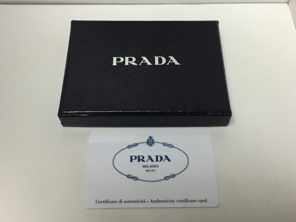 PRADA(プラダ) パスケース - 1MC208 黒 レザー 4