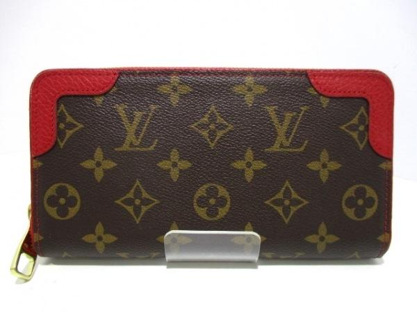 ルイヴィトン 長財布 モノグラム美品  ジッピー・ウォレット M61854 0