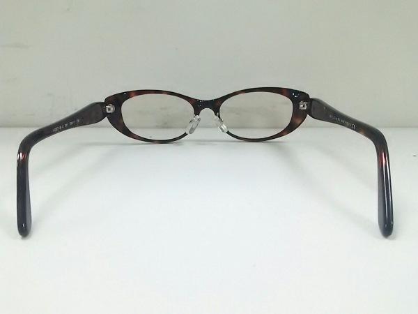 ブルガリ メガネ美品  4057-B-A クリア×ダークブラウン×マルチ 3