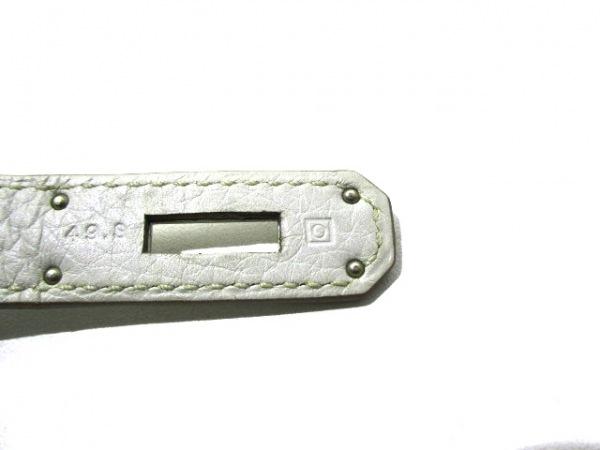 エルメス ショルダーバッグ美品  ジプシエール28 パールグレー 4