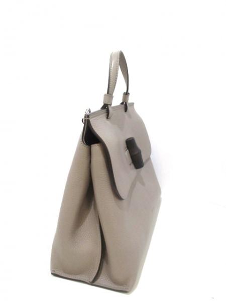 GUCCI(グッチ) ハンドバッグ美品  バンブーデイリー 392013 レザー 2