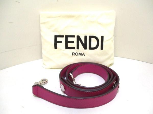 FENDI(フェンディ) ハンドバッグ バイザウェイ 8BL124 ピンク レザー 9