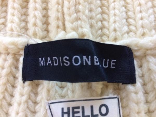 マディソンブルー ポンチョ サイズ01 S レディース アイボリー 3