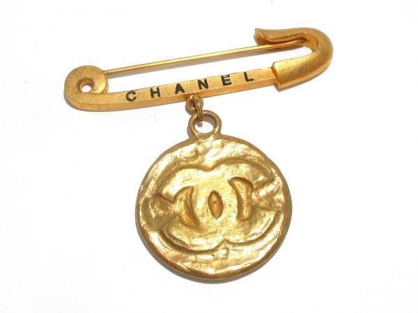 CHANEL(シャネル) ブローチ 金属素材 ゴールド ココマーク 0