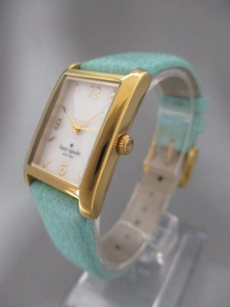 ケイト 腕時計 - 0429 レディース シェル文字盤/革ベルト 2
