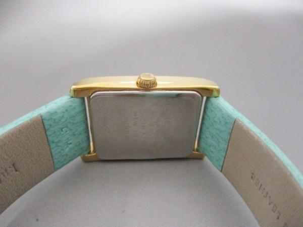 ケイト 腕時計 - 0429 レディース シェル文字盤/革ベルト 3
