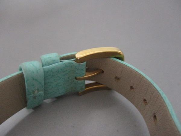 ケイト 腕時計 - 0429 レディース シェル文字盤/革ベルト 4