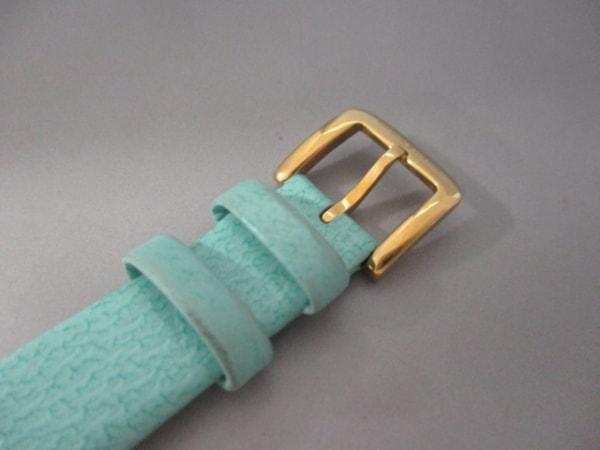 ケイト 腕時計 - 0429 レディース シェル文字盤/革ベルト 5