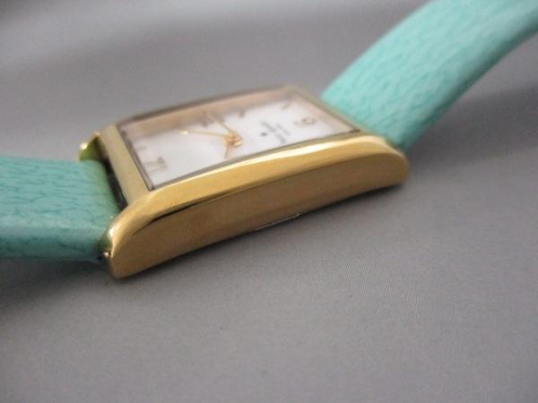 ケイト 腕時計 - 0429 レディース シェル文字盤/革ベルト 8