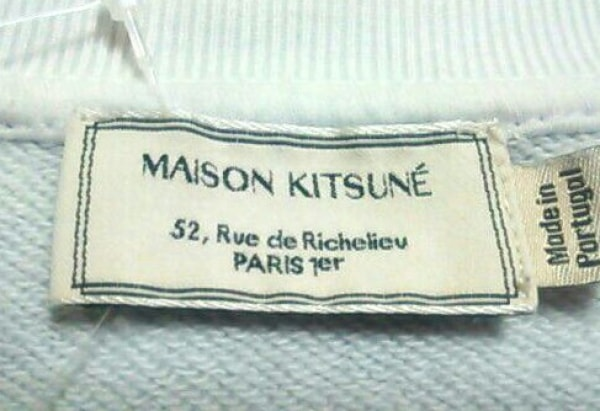MAISON KITSUNE(メゾンキツネ) トレーナー サイズM レディース 3