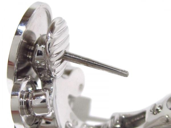 BVLGARI(ブルガリ) ピアス美品  チクラディ K18WG×ダイヤモンド 4