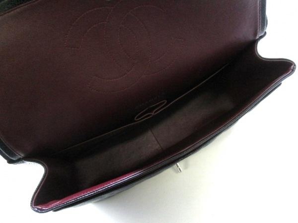 シャネル ショルダーバッグ美品  デカマトラッセ 黒 キャビアスキン 5
