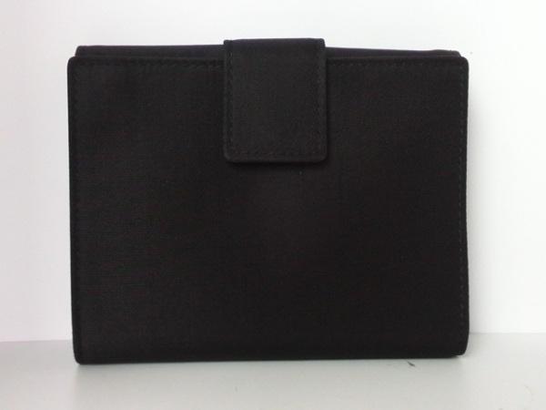 PRADA(プラダ) Wホック財布 - 黒 ナイロン 2