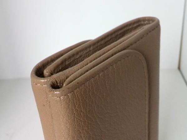 miumiu(ミュウミュウ) Wホック財布 - 5M1373 ベージュ レザー 6