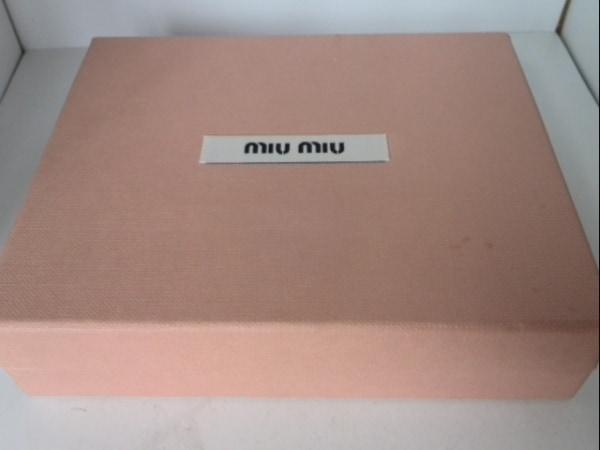 miumiu(ミュウミュウ) Wホック財布 - 5M1373 ベージュ レザー 8