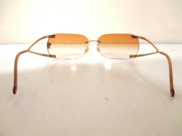 ヴェルサーチ サングラス美品  MOD.N86-H ライトブラウン×ゴールド 3