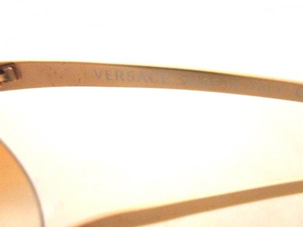 ヴェルサーチ サングラス美品  MOD.N86-H ライトブラウン×ゴールド 4