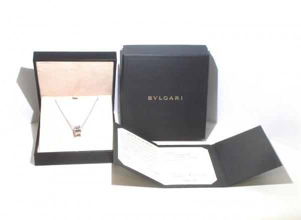 BVLGARI(ブルガリ) ネックレス美品  B-zero1 K18WG 旧型 9