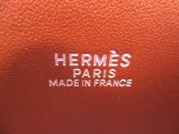 HERMES(エルメス) ハンドバッグ ボリード37 ブリック シルバー金具 6