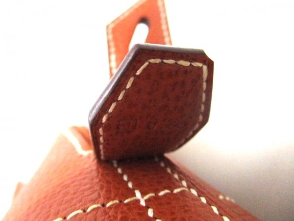 HERMES(エルメス) ハンドバッグ ボリード37 ブリック シルバー金具 7