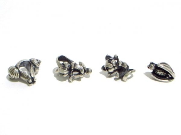 TROLLBEADS(トロールビーズ) アクセサリー美品  シルバー 19個セット 3