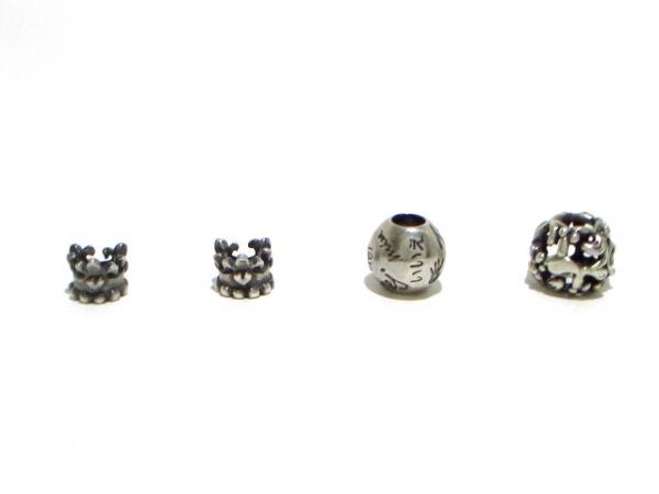 TROLLBEADS(トロールビーズ) アクセサリー美品  シルバー 19個セット 6