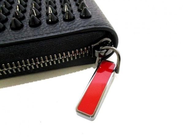 クリスチャンルブタン 2つ折り財布美品  1175094 黒 6