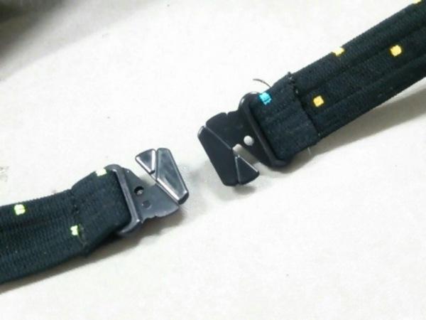 Lacoste(ラコステ) ビキニ サイズ9M レディース新品同様  黒×マルチ 6