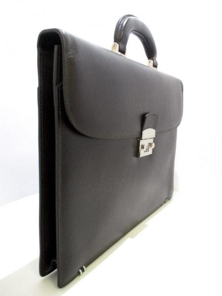 SERAPIAN(セラピアン) ビジネスバッグ美品  黒 レザー 2