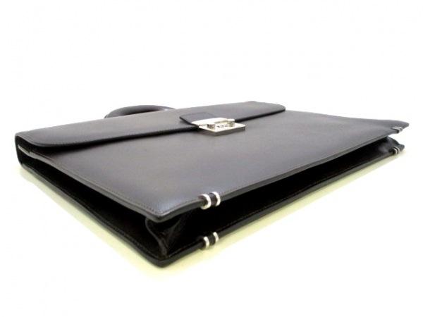 SERAPIAN(セラピアン) ビジネスバッグ美品  黒 レザー 4