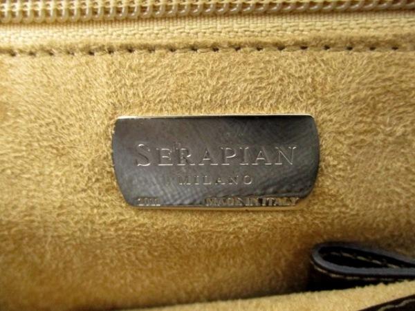 SERAPIAN(セラピアン) ビジネスバッグ美品  黒 レザー 6