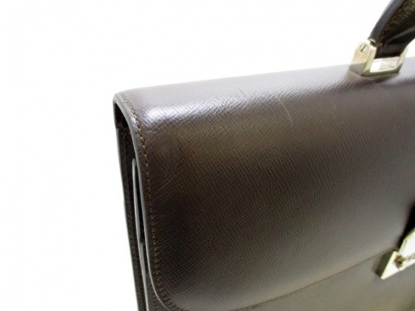 SERAPIAN(セラピアン) ビジネスバッグ美品  黒 レザー 7
