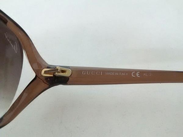 グッチ サングラス ラブリー GG3525/K/S ダークブラウン×ゴールド 4
