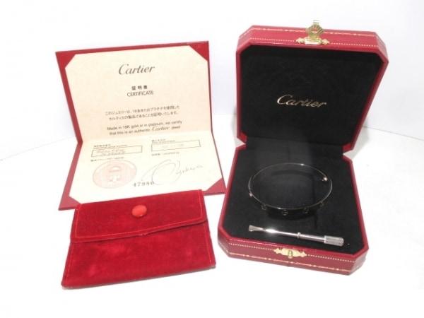 カルティエ バングル 16美品  ラブブレス B6005600 K18WG 旧型 8
