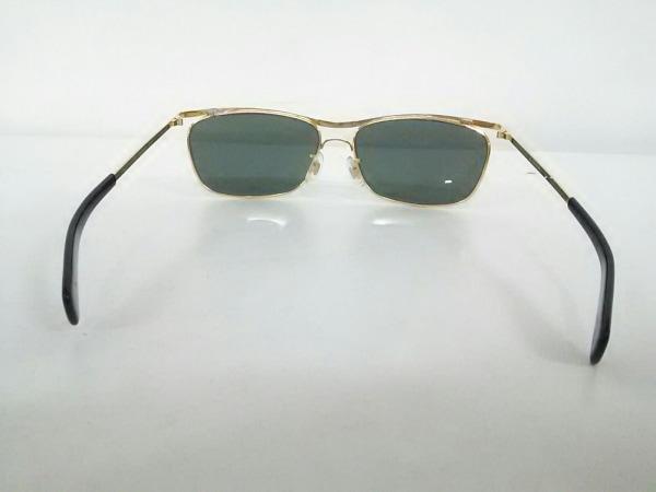 レイバン サングラス美品  OLYMPIAN - ダークグリーン×ゴールド×黒 3